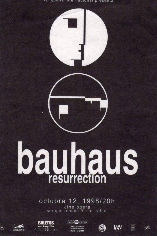 Bauhaus en México, su primera visita en 1998, entre darks y punks –  Depósito Sonoro